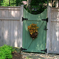 Custom Wood Gate Designs By Elyria Fence A Cleveland