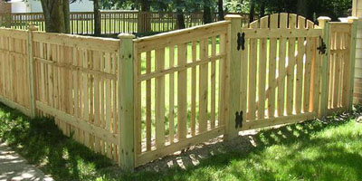 Good Neighbor White Cedar Wood Privacy Fences And Picket Fencing