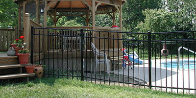 Aluminum Fence Designs Fence designs by elyria fence ornamental aluminum fence workwithnaturefo