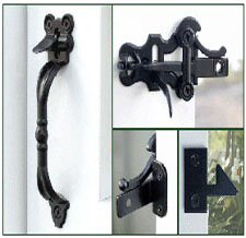 Wood Fence and Gate Hardware - Hoover Fence Co. - Wood Gate Hinges