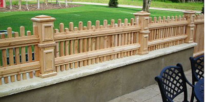 Picket Fence Designs by Elyria Fence
