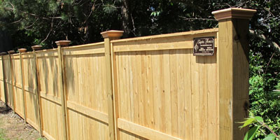 Good Neighbor Cedar Fence Designs Home Design Inspirations
