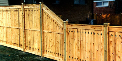 Good Neighbor Cedar Privacy Fence by Elyria Fence