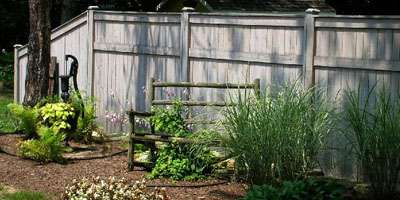Cedar Privacy Fence Designs by Elyria Fence