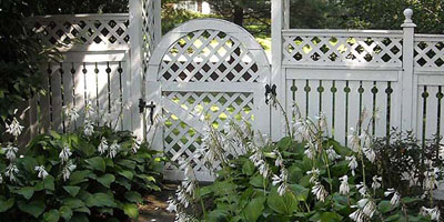 Cedar Semi-privacy Fences by Elyria Fence