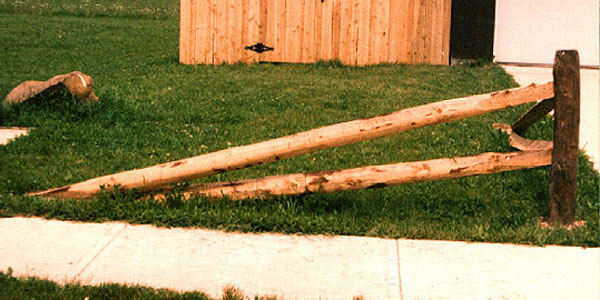 Two Rail Split Rail Tapered Fence By Elyria Fence