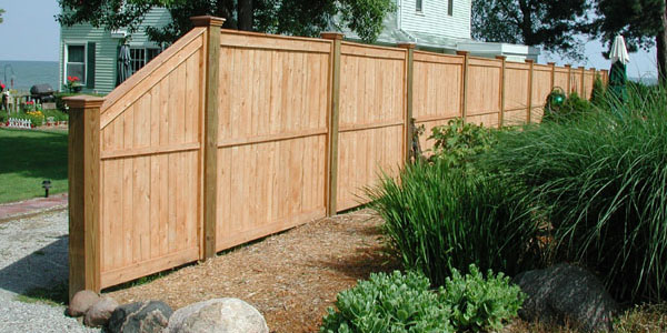 Good Neighbor Cedar Privacy Fencing by Elyria Fence