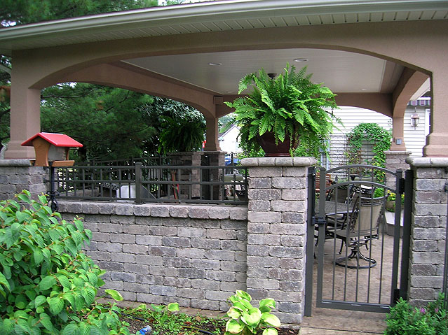 Ornamental Aluminum. Arched Gate. Iron Arbor By Elyria Fence