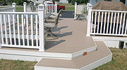 wood decks, composite decks & vinyl decks by elyria fence