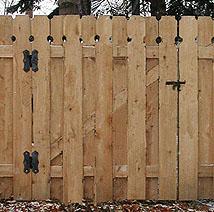 Custom Wood Gate Designs By Elyria Fence A Cleveland