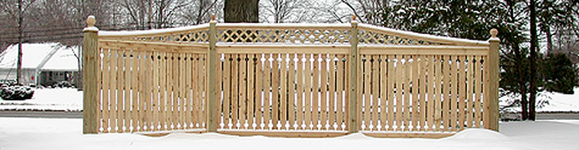 Good Neighbor Cedar Wooden Fences By Elyria Fence