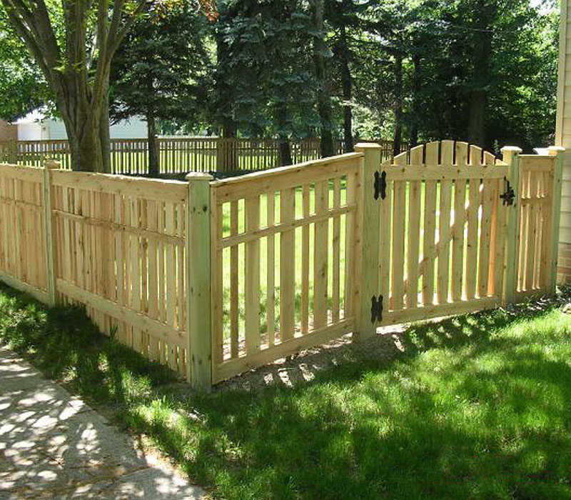 Fence Gate Design Wood Fencing