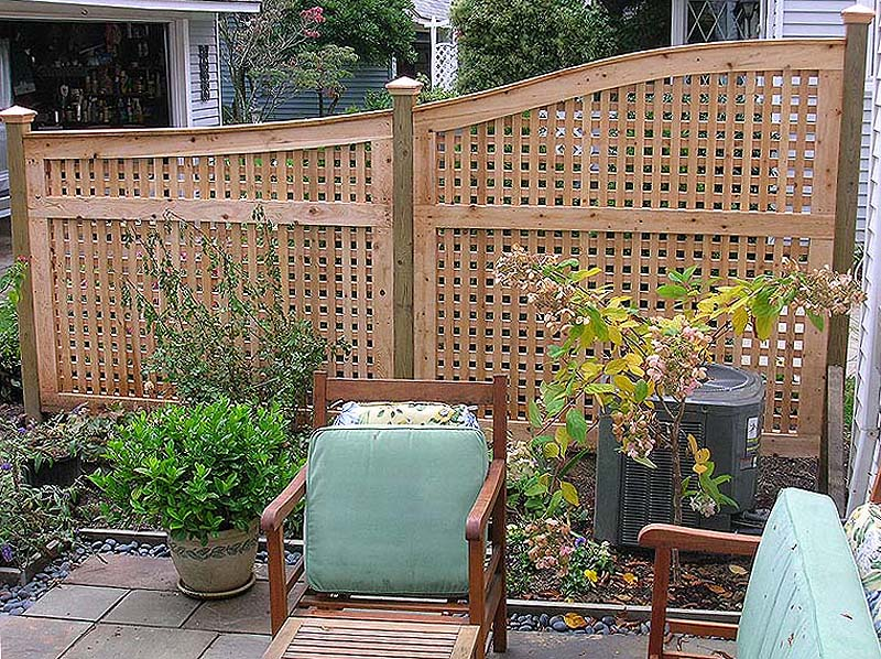 Pics s Privacy Fence Ideas Patio