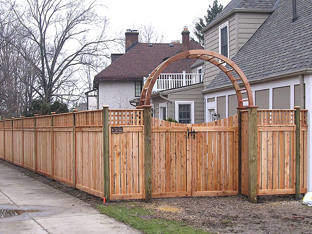 Custom Arbor By Elyria Fence