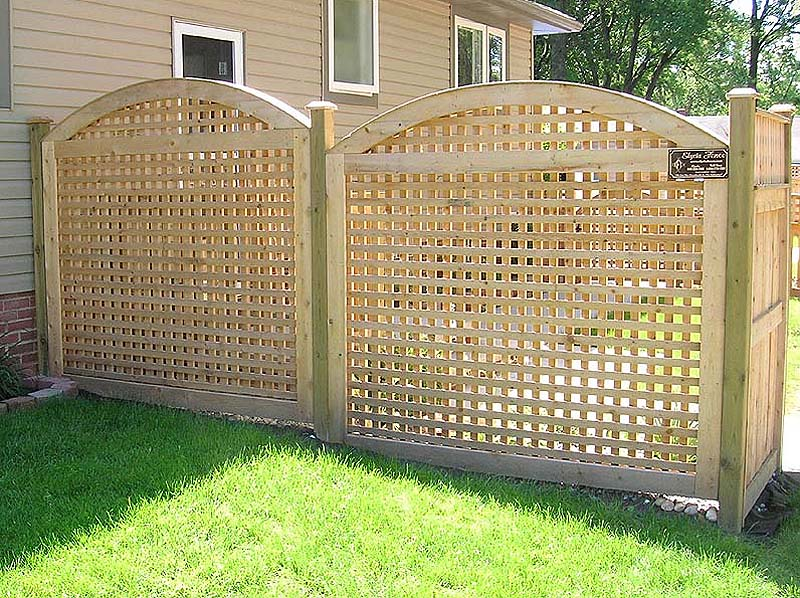 Pdf how to build wood lattice screens plans free for Wood screen fence
