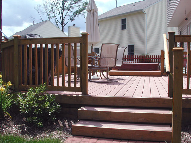 Azek Composite Deck by Elyria Fence