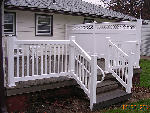 Vinyl Deck Railings 11