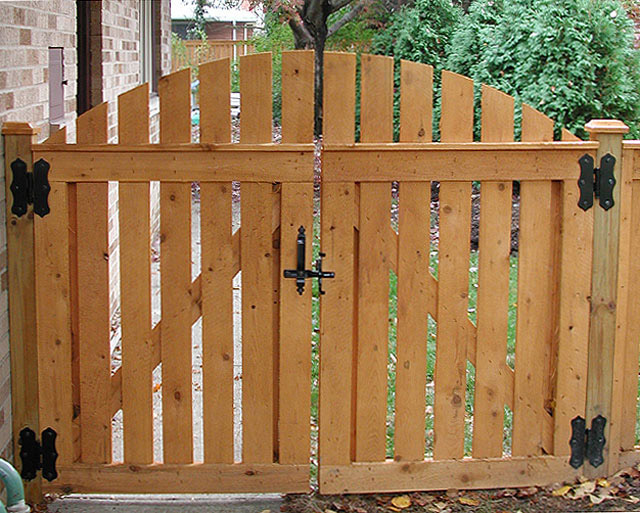 Wood work wooden fence double gate designs pdf plans