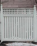 Good Neighbor Semi Privacy Wood Fence Designs