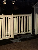 spaced wood fence by elyria fence