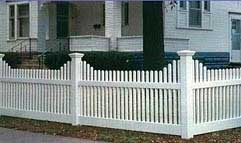 Custom Vinyl Privacy Fence Amp Vinyl Picket Fences By Elyria