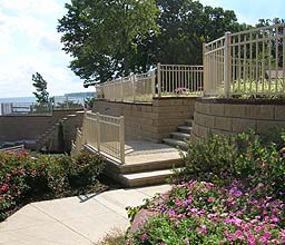 Ornamental Aluminum Railing by Elyria Fence