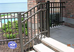 Metal Stair Railing by Elyria Fence, a Cleveland Railing Company since 1932
