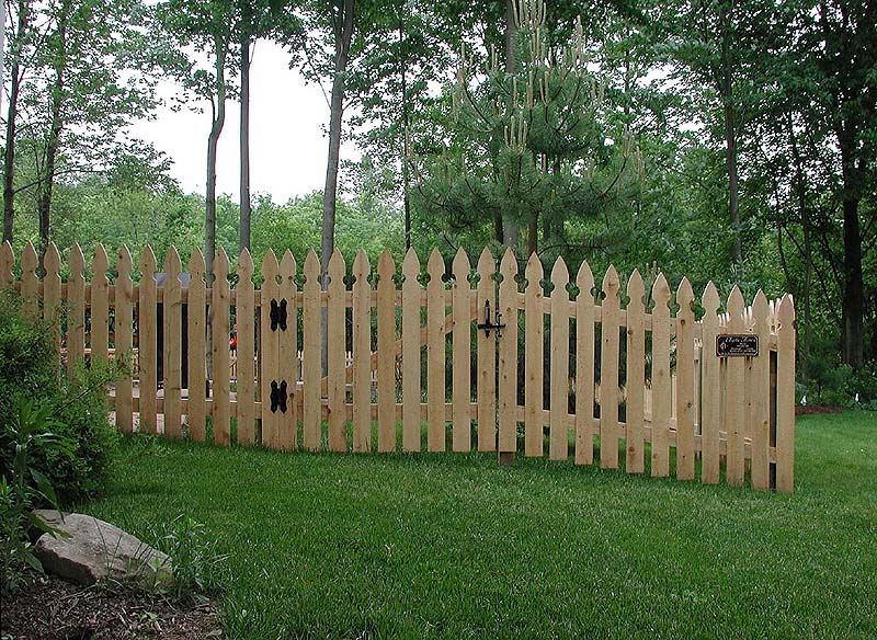 Standard runner spaced imperial picket fence by elyria